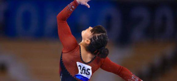 Alexa Moreno avanzó a la final de salto de caballo en Juegos Olímpicos