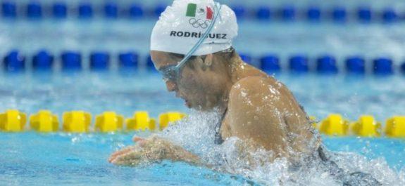 Melissa Rodríguez, fuera de la contienda por medalla en los 100 metros pecho