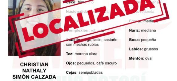 Adolescente reportada desaparecida aquí, fue encontrada en Guadalajara