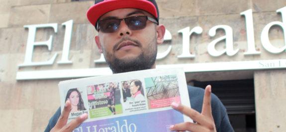 P-Fue el primer rapero mexicano en ser padrino de una nueva temporada de baseboll nacional
