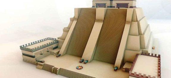 maqueta monumental templo mayor