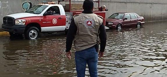 Protección Civil de Soledad no registra incidentes mayores por lluvias