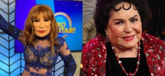 Carmen Salinas y lyn may embarazo