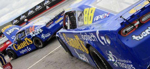 García Jr. se mantiene líder en NASCAR Peak