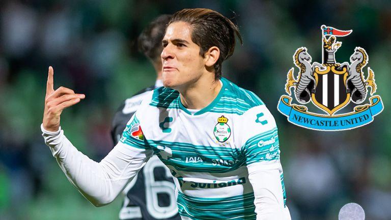 Santiago Muñoz es nuevo jugador del Newcastle United de Inglaterra