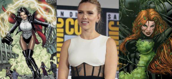 Scarlett Johansson dc movies