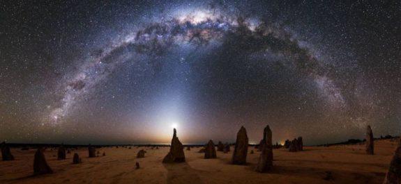 Vía Láctea rota