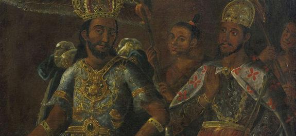 Portrait of Moctezuma and Cuauhtémoc, 17th century