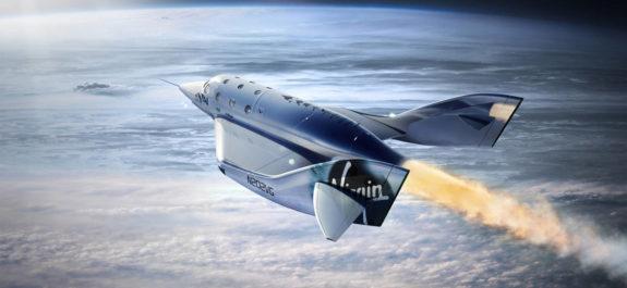 viajes espaciales de Virgin Galactic