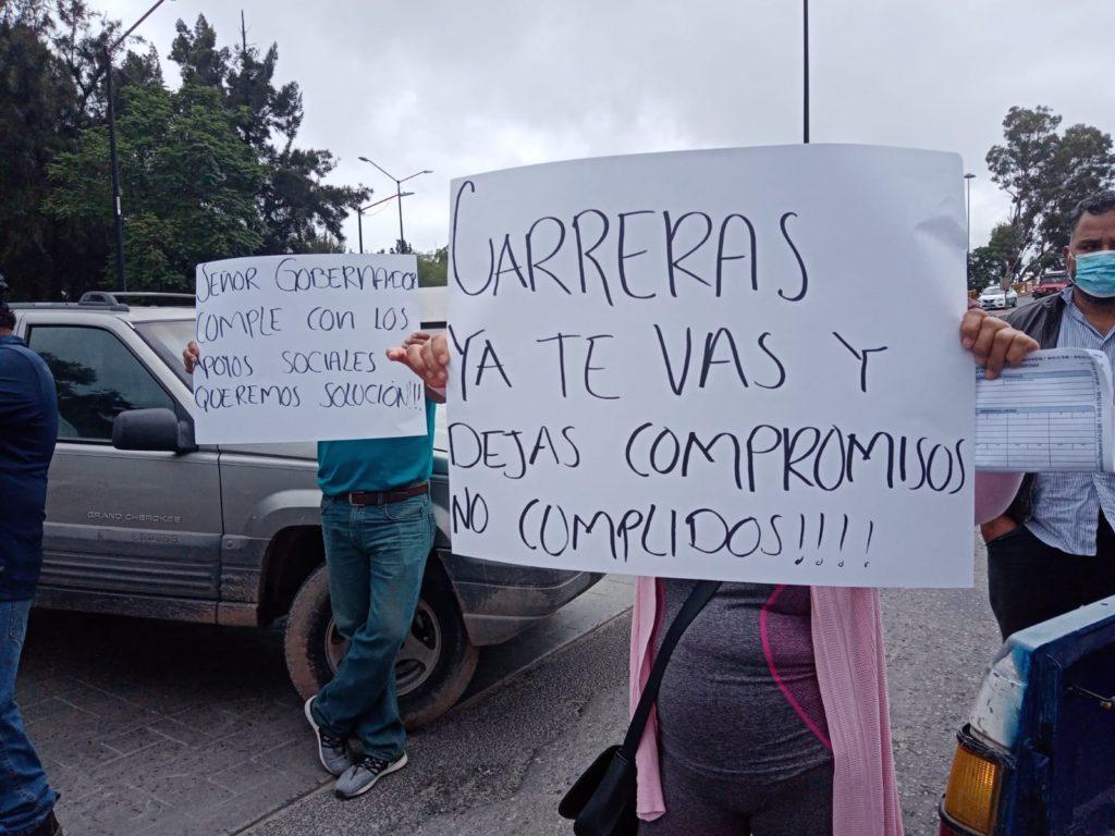 SUTCECYTE y Estancias  Infantiles protestan contra  Gobierno estatal