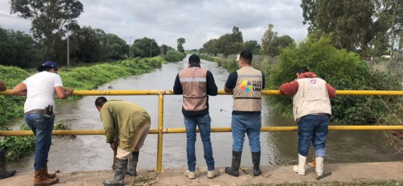 Protección Civil de Soledad reconoce anegaciones en varias vialidades