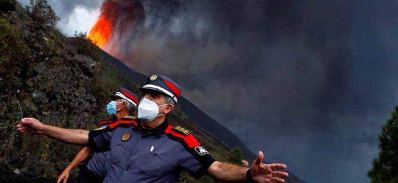 volcan Cumbre Vieja