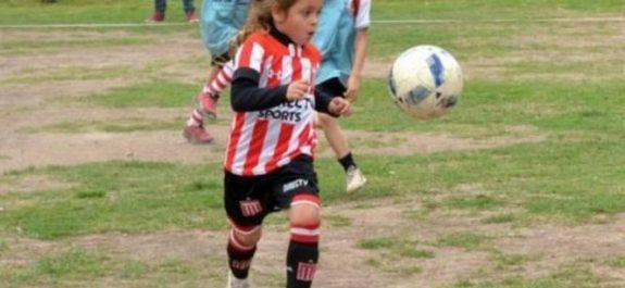 niña prodigio del futbol