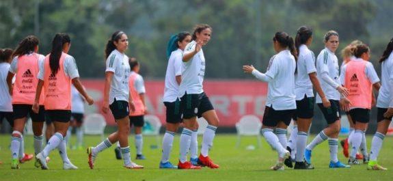Selección Mexicana Femenil cayó en juego de práctica ante Colombia