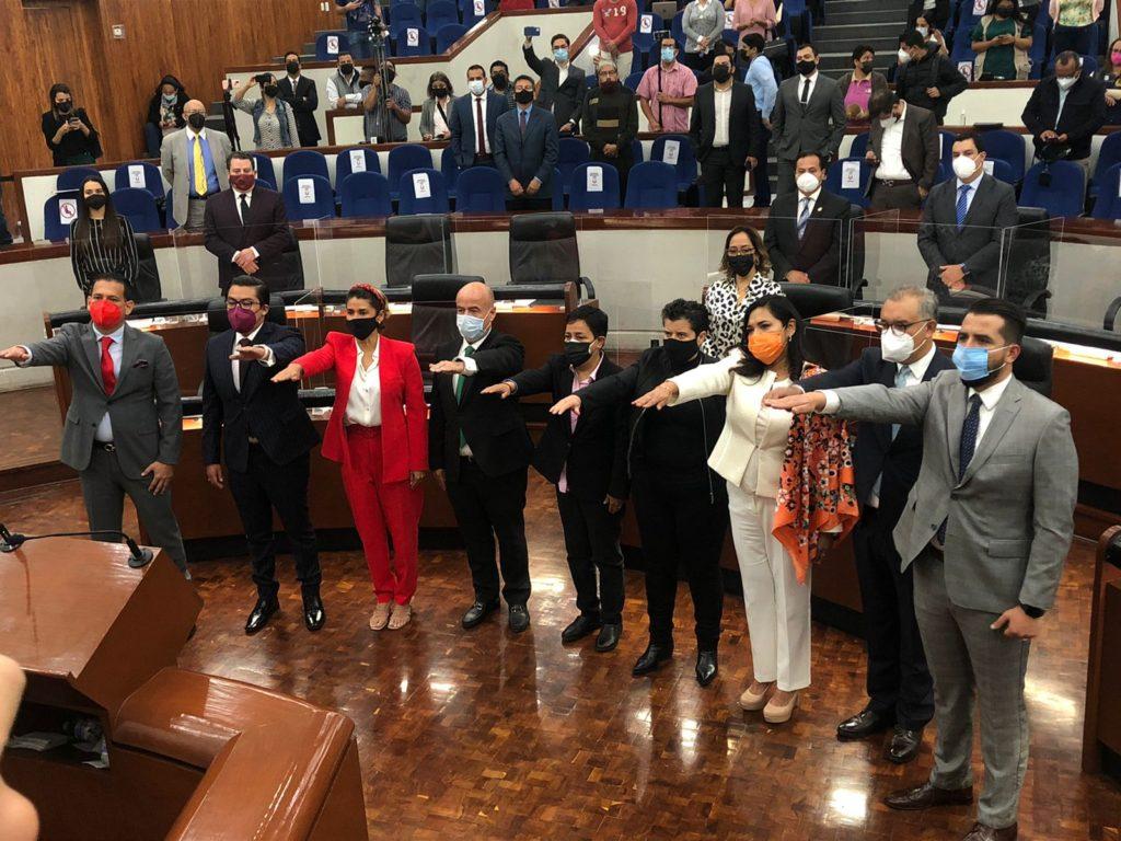 José Luis Fernández presidirá la JUCOPO en el primer año de ejercicio de la LXIII Legislatura