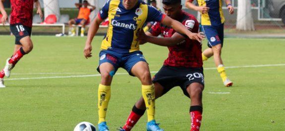 Atlético de San Luis Sub-20 cae ante Toluca
