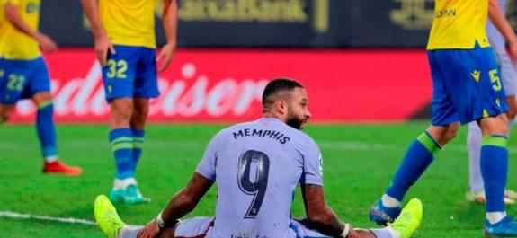 Barcelona no pasó del empate ante el Cádiz y ya es séptimo