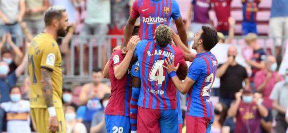 Barcelona triunfa y Ansu Fati vuelve en plan grande