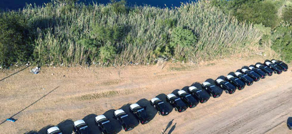 """México y EU montan """"muro"""" para cercar a migrantes haitianos en la frontera"""