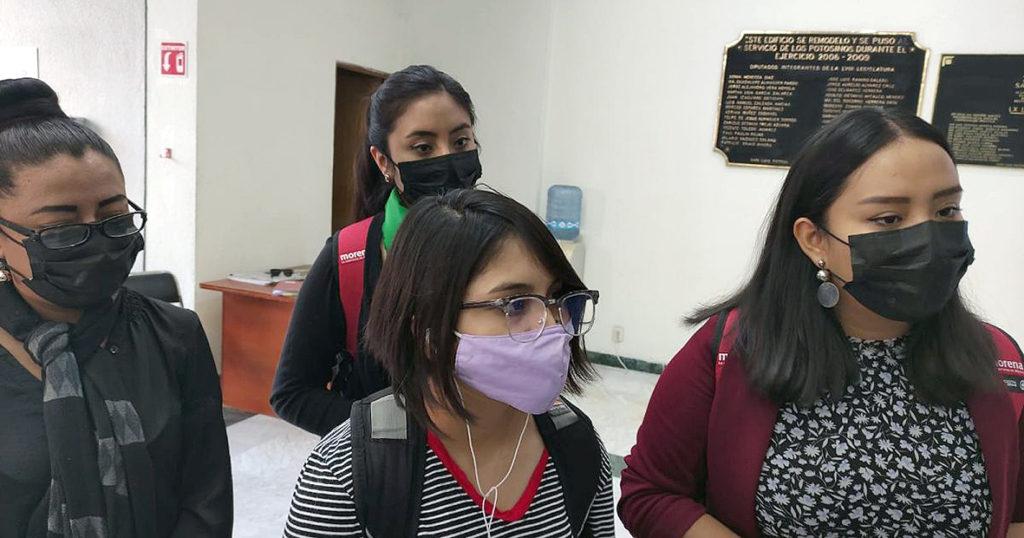 Mujeres morenistas piden no criminalizar el aborto en SLP