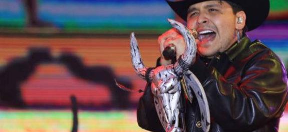 Christian Nodal y la Banda Ms juntos en La Sinvergüenza