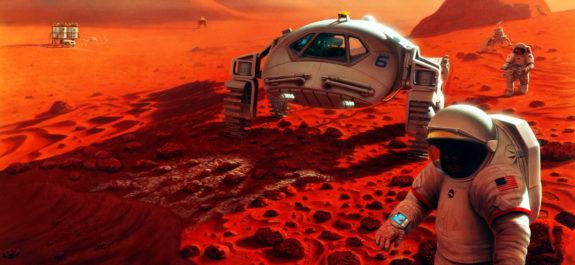 Científicos calculan cuánto tiempo Marte