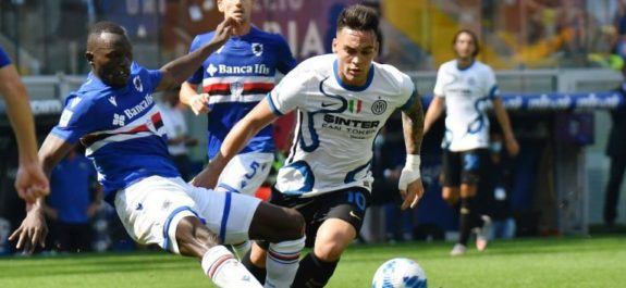 Inter de Milán no pasó del empate contra el Sampdoria y perdió los primeros puntos del año
