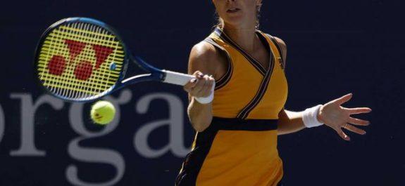 Belinda Bencic avanza en el Abierto de Estados Unidos