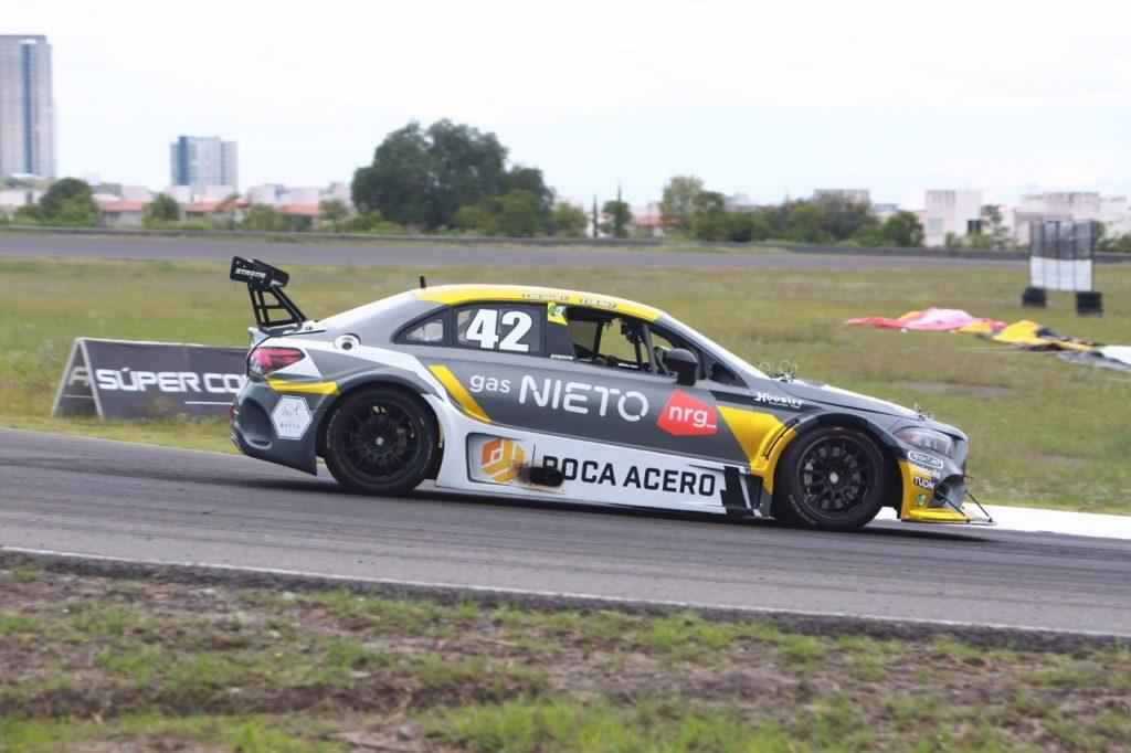 Nieto-Camarillo y de Alba-Marín los más rápidos en las  prácticas de  Mercedes-Benz
