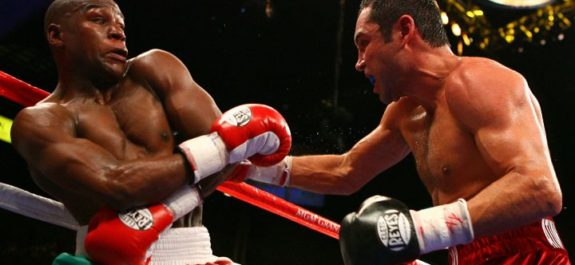 Óscar de la Hoya: Ofertaré 100 millones de dólares para pelear con Mayweather