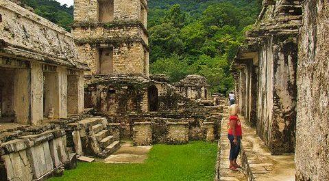 Palenque zona arqueoligica turismo