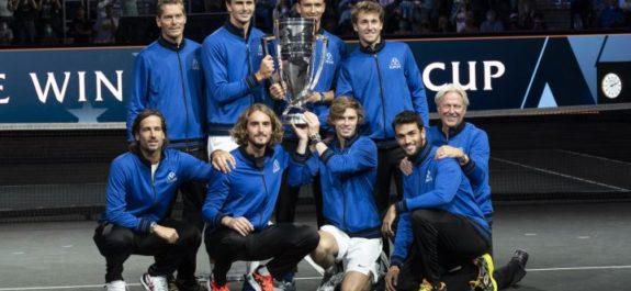 Paliza de Europa para llevarse otra vez la Laver Cup