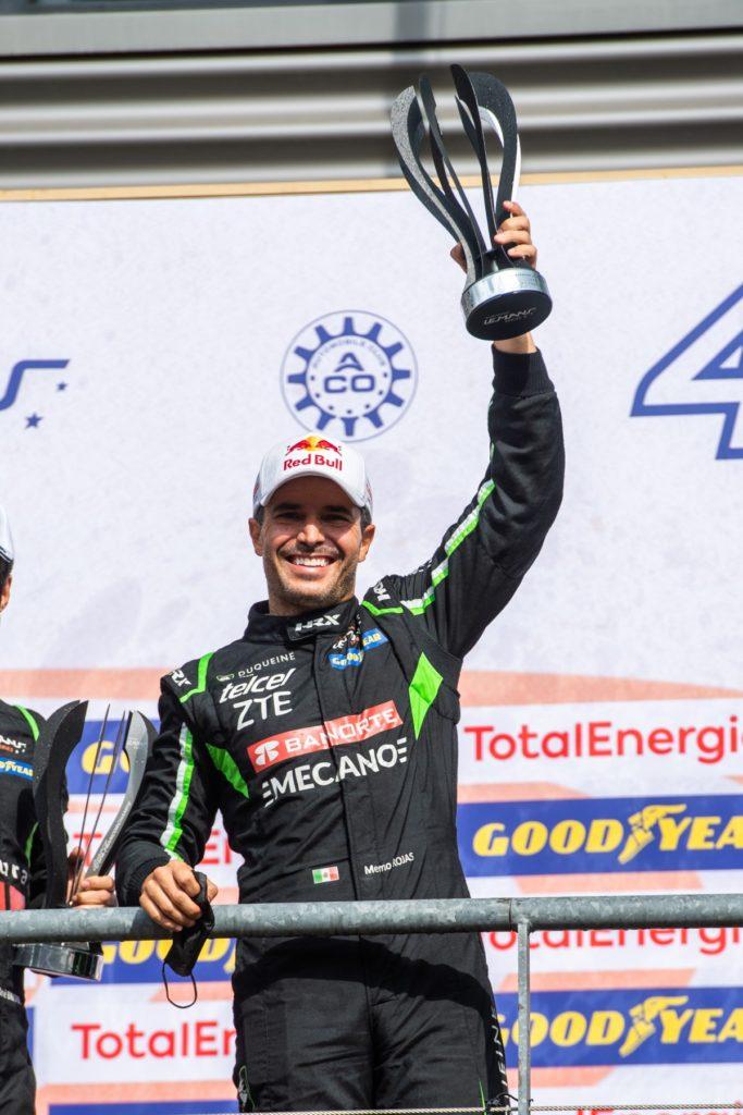 Rojas muy cerca de la victoria y sube al podio en Spa