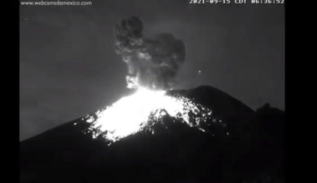 Volcán capta