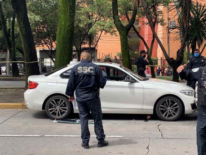 Matan a hombre a bordo de su BMW en División del Norte