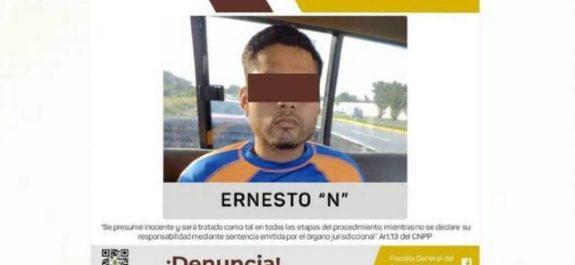 """Se entrega Ernesto """"N"""", agresor de Karla; la atacó a martillazos"""