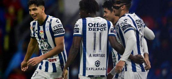 El Pachuca vence al Necaxa gracias a Avilés Hurtado