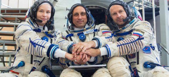 película en el espacio rusia