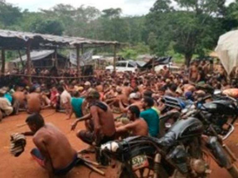 GNB rescató a 680 pequeños mineros secuestrados por el Tren de Aragua
