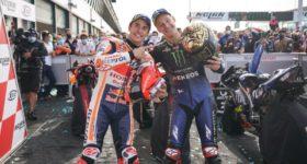 Carrerón de MotoGP en Misano, el piloto francés Fabio Quartararo se corona campeón mientras que Marc Márquez logra la victoria