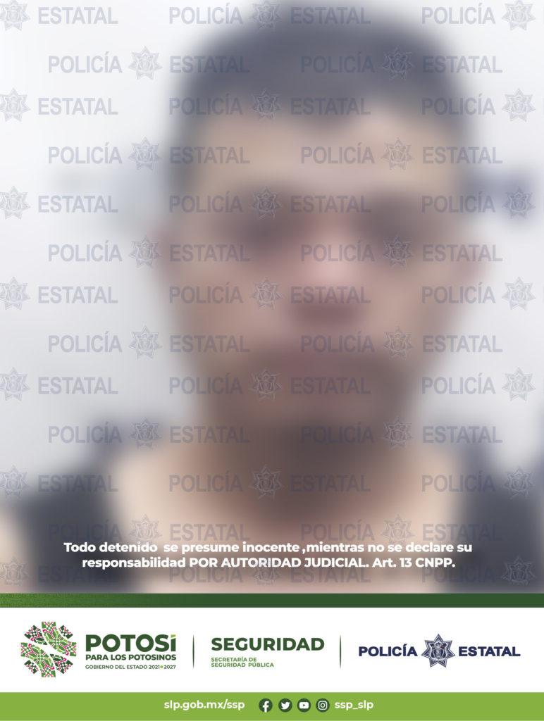Por robo de vehículo y autoparte fue detenido