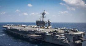 """Siguen maniobras de """"pequeña OTAN"""": EEUU envía otro portaviones"""
