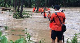 Tifón Kompasu deja 13 muertos y nueve desaparecidos en Filipinas