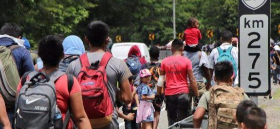 detienen a migrantes