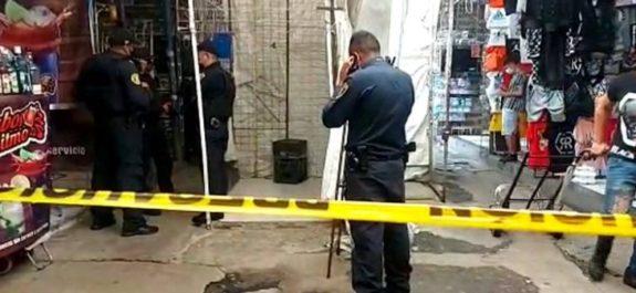 Acribillan a balazos a hombre en calles de Tepito