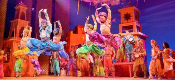 Aladdin el musical de Broadway