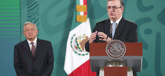 Marcelo Ebrard avisa que buscará la presidencia en 2024 con Morena