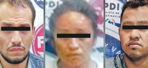 Detienen a tres presuntos secuestradores y asesinos