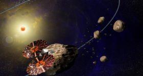 Misión Lucy de la NASA
