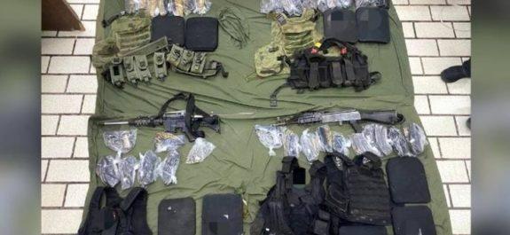 Vinculan a proceso a tres personas detenidas con armamento en Jalisco